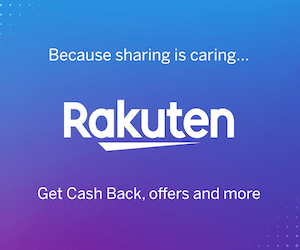 Get Cash Back with Rakuten!
