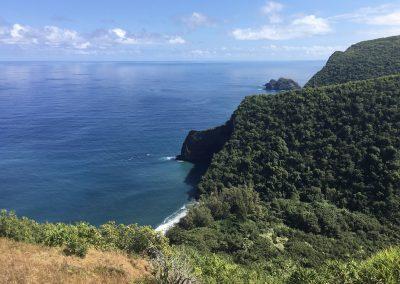 Honokane Nui Valley Lookout Big Island of Hawaii