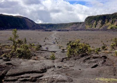 Kīlauea Iki Trail in Hawaii Volcanoes National Park Big Island of Hawaii