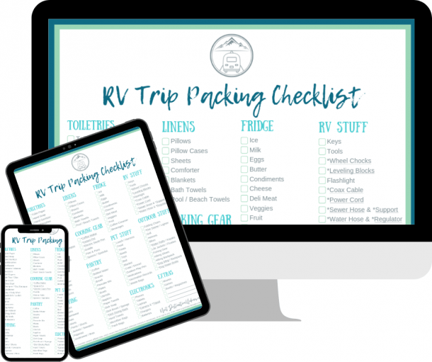 Download your Free RV Trip Packing Checklist