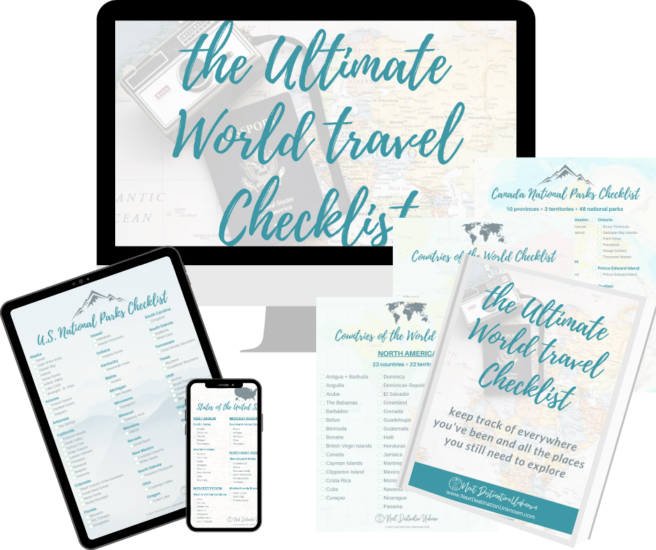Ultimate World Travel Checklist
