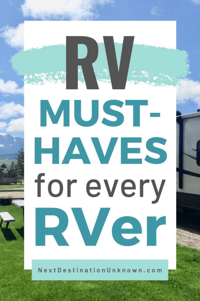 RV Must-Haves for Every RVer to Make RVIng Easier