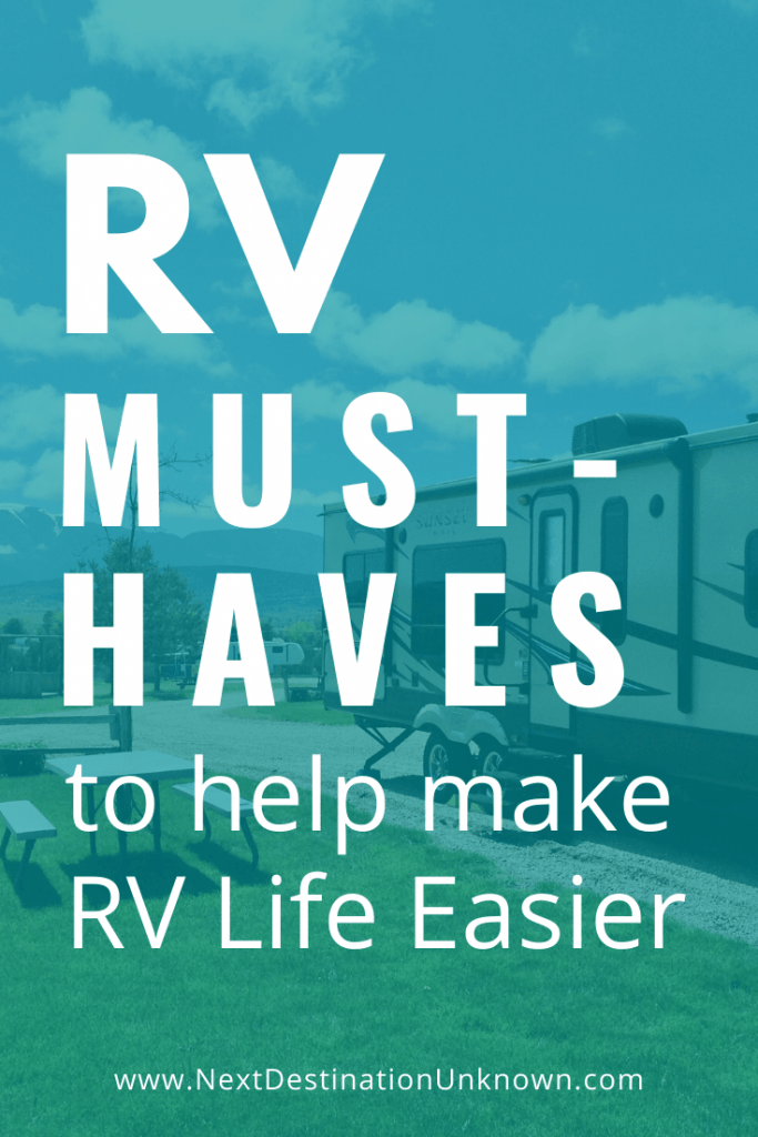RV Must-Haves Every RVer Needs to Make RVing Easier