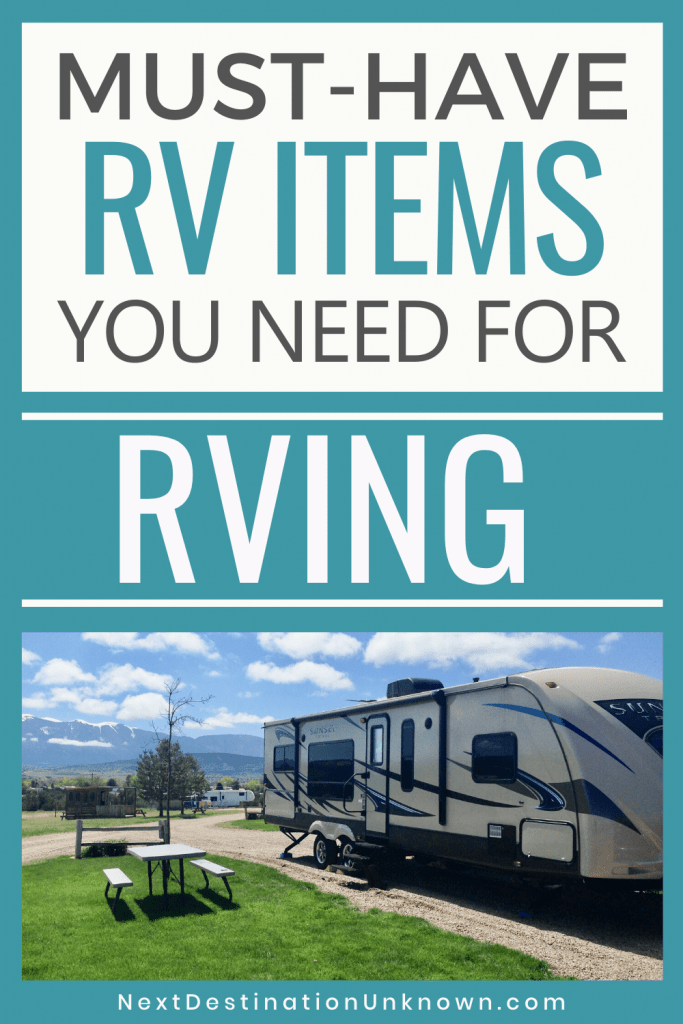 RV Must-Haves Every RVer Needs to Make RVing Easier - Pin 4
