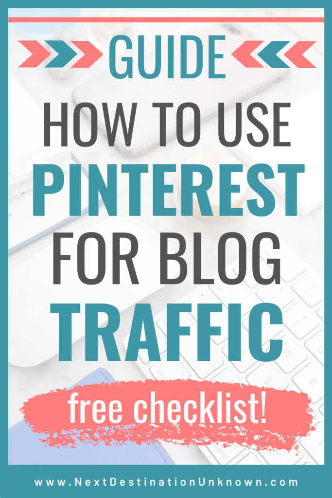 Ultimate Guide for How to Use Pinterest for Blogging to Drive Traffic to Your Blog #pinterestforblogging #pinterestforblogtraffic #pinteresttips #blogtraffic