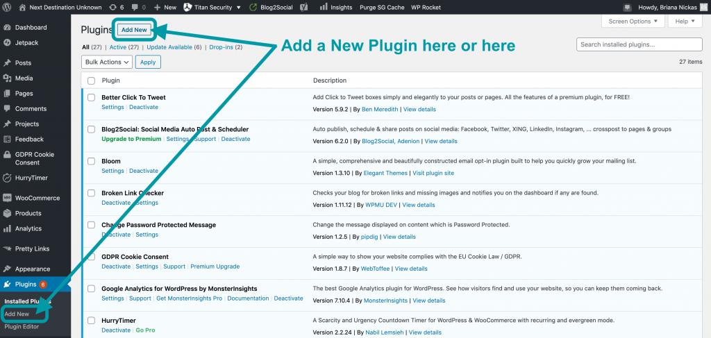 Add New Plugin