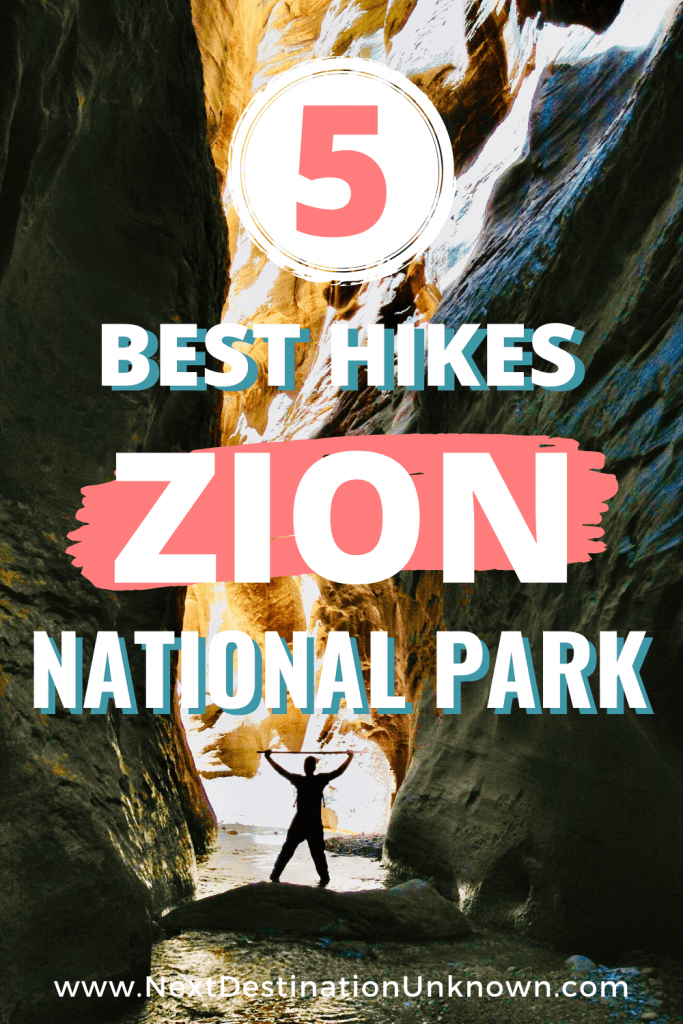 5 Best Hikes in Zion National Park Utah