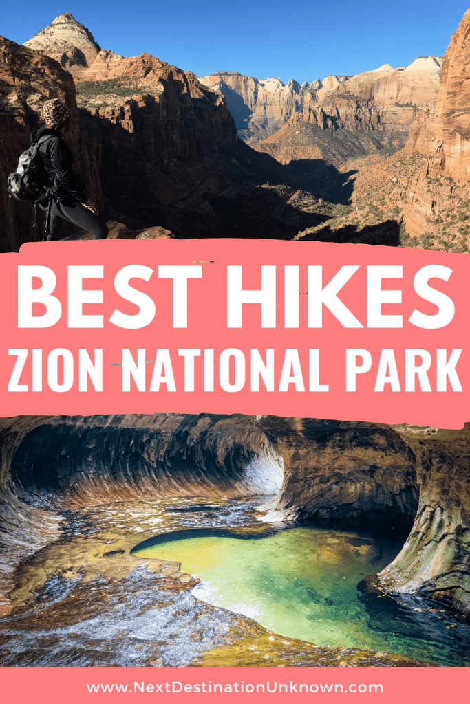 Best Hikes in Zion National Park Utah