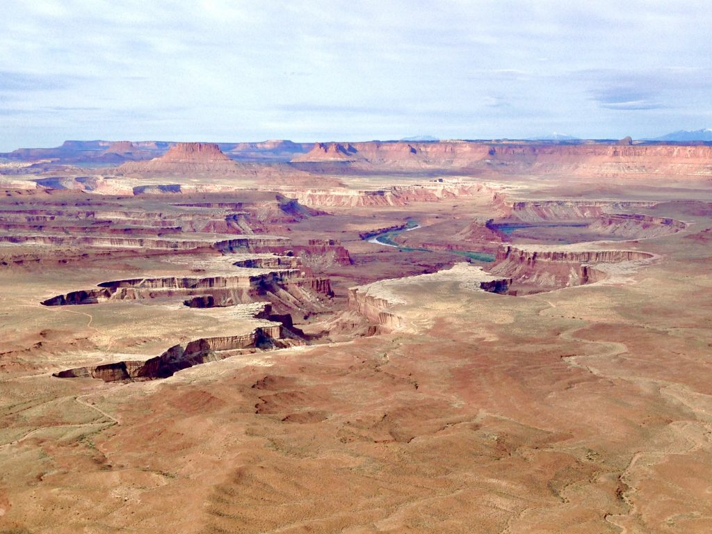Green River Overlook at Canyonlands National Park