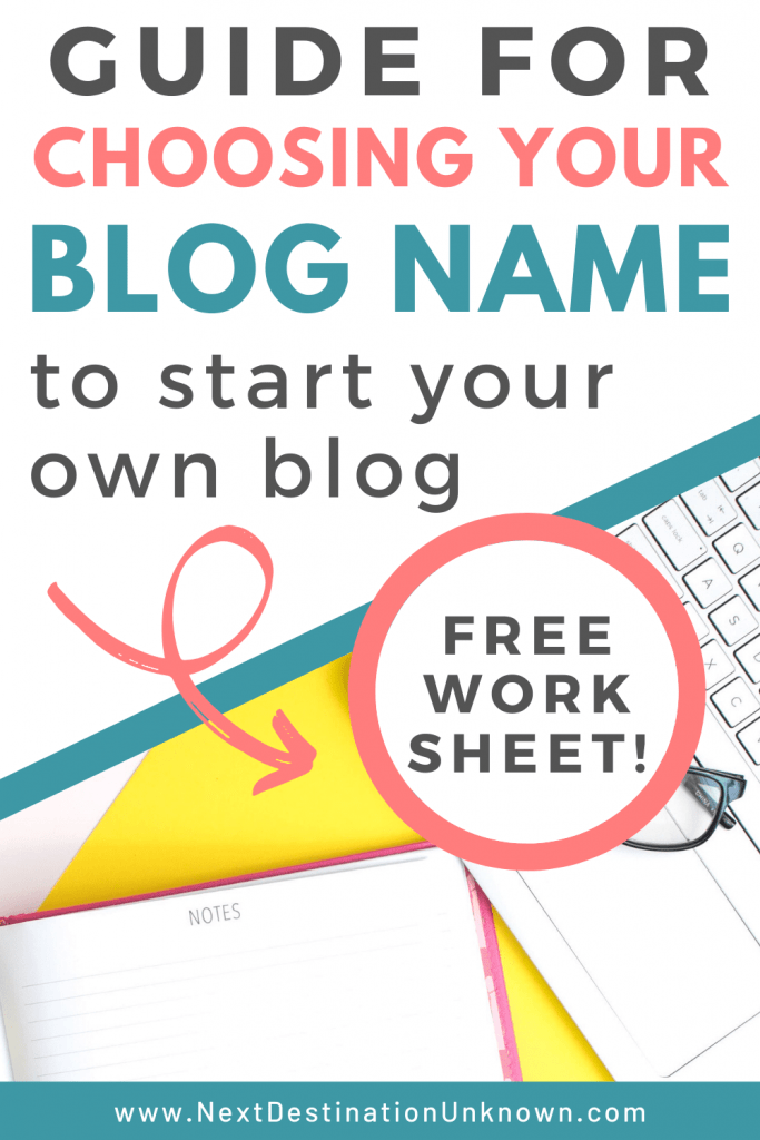Guide for Choosing Your Blog Name to Start Your Own Blog