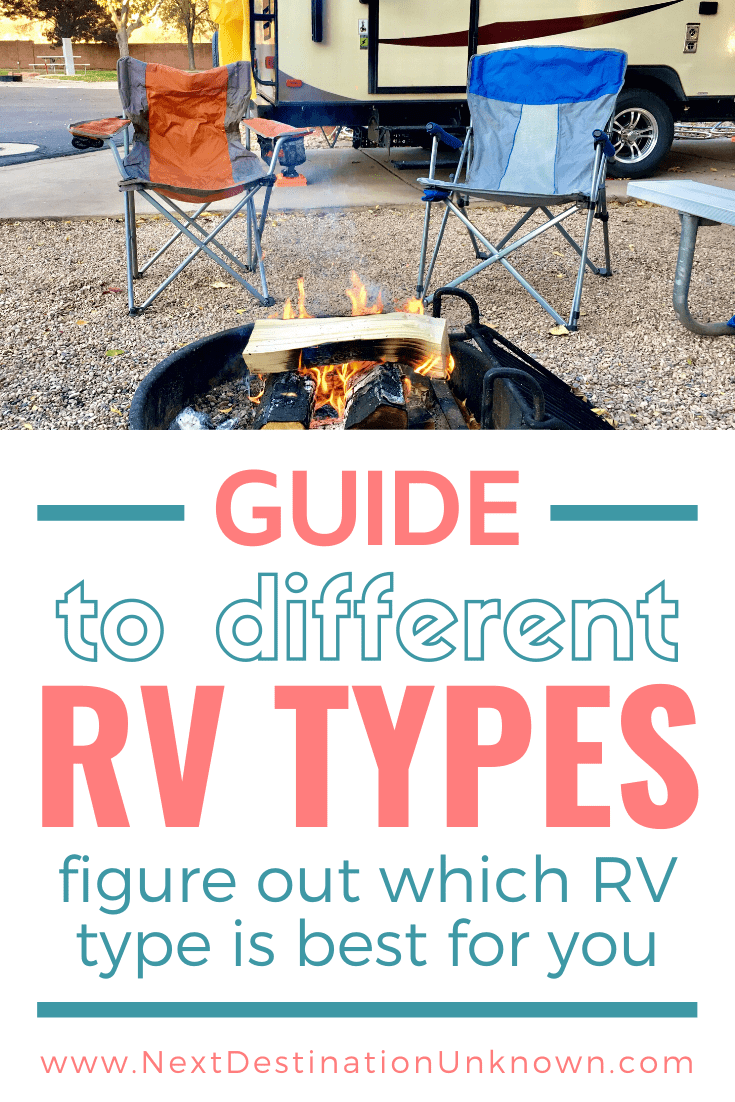 Guide to Different RV Types - Figure Out Which RV Type is Best for You