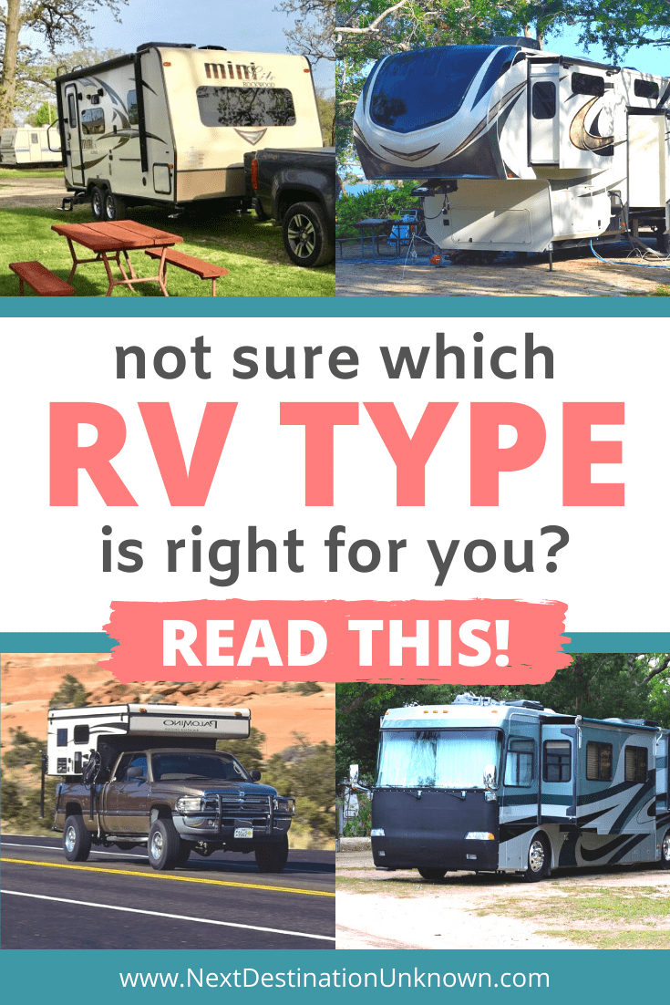 If You're Not Sure Which RV Type is Right for You, Read this Ultimate Guide to the Different RV Types