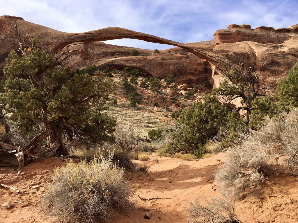 Landscape Arch at Arches National Park