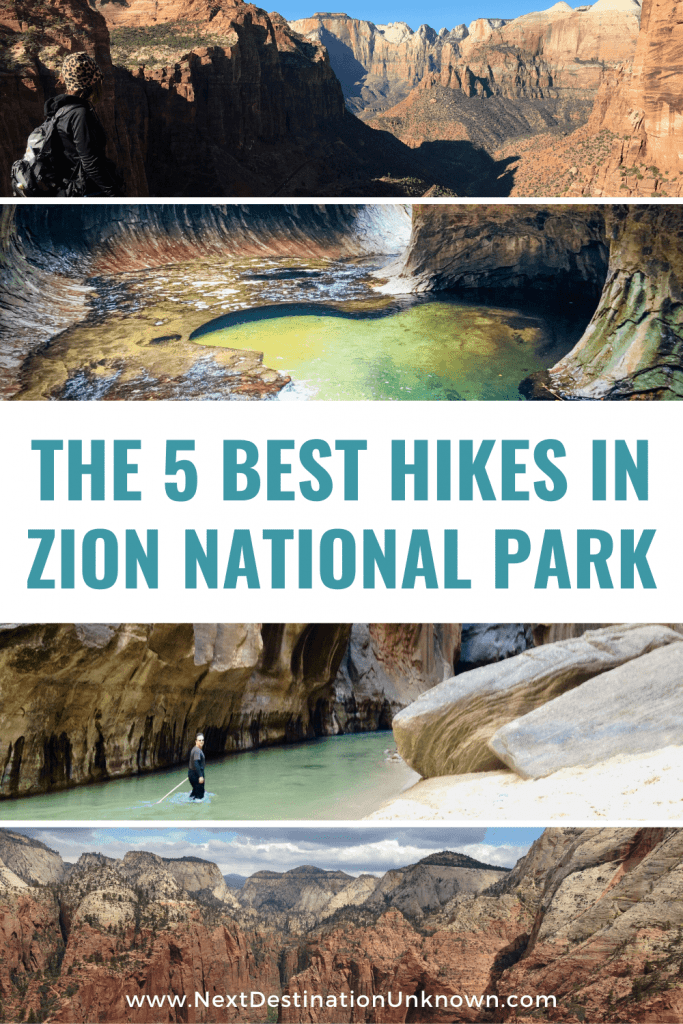 The Best 5 Hikes in Zion National Park Utah