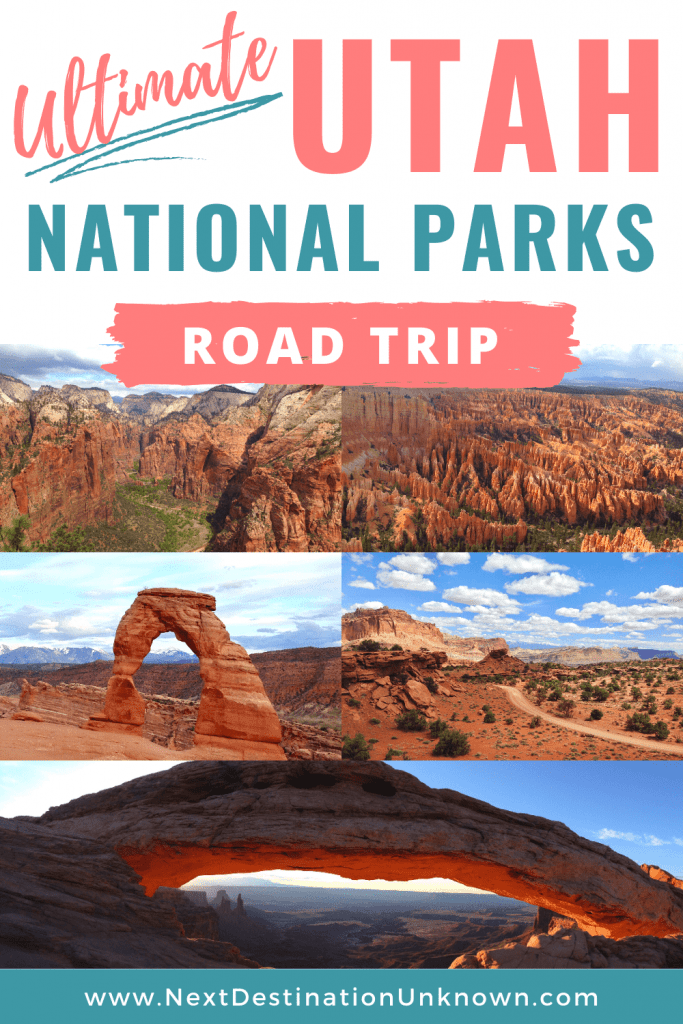 Ultimate Utah National Parks Road Trip