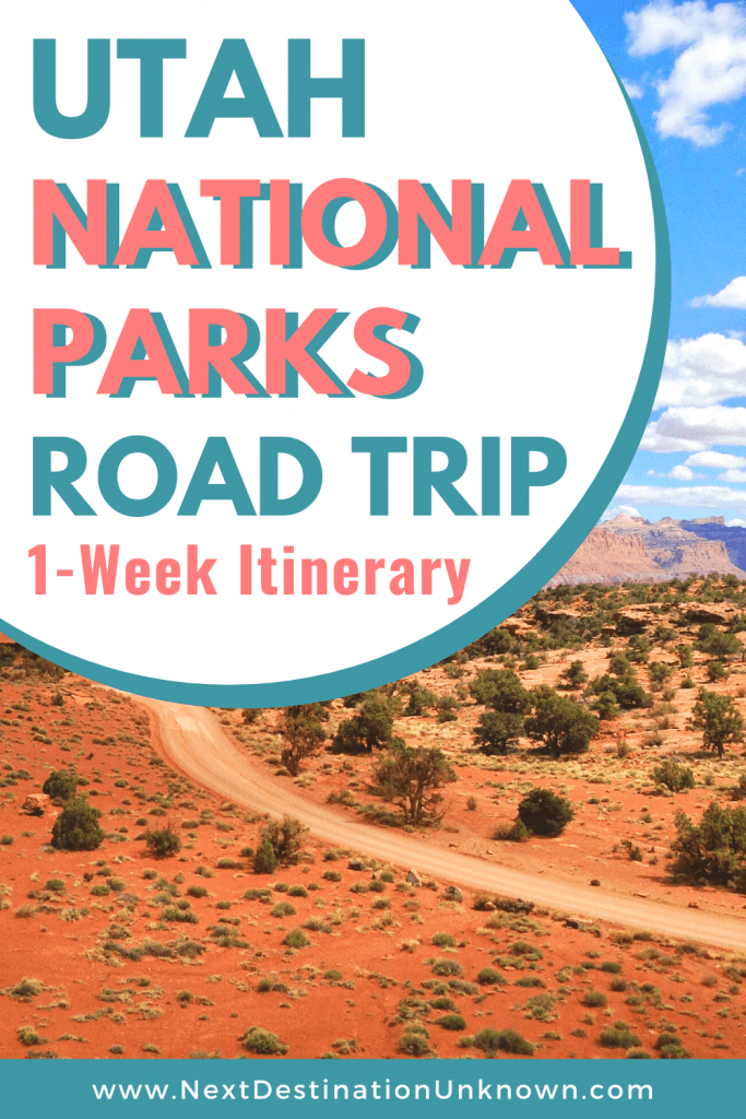 Utah National Parks Road Trip 1-Week Itinerary
