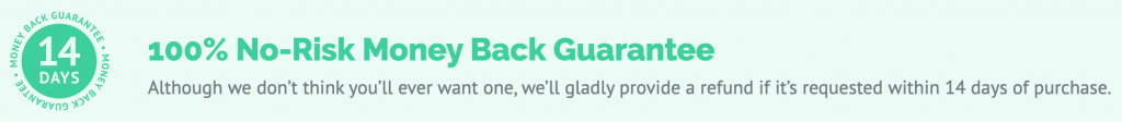 WP Rocket 14 Days 100% No-Risk Money Back Guarantee
