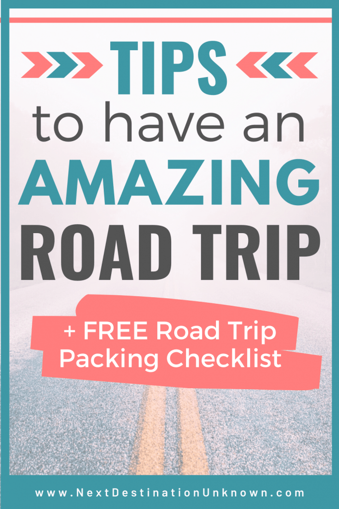 Road Trip Tips to Have an Amazing Road Trip