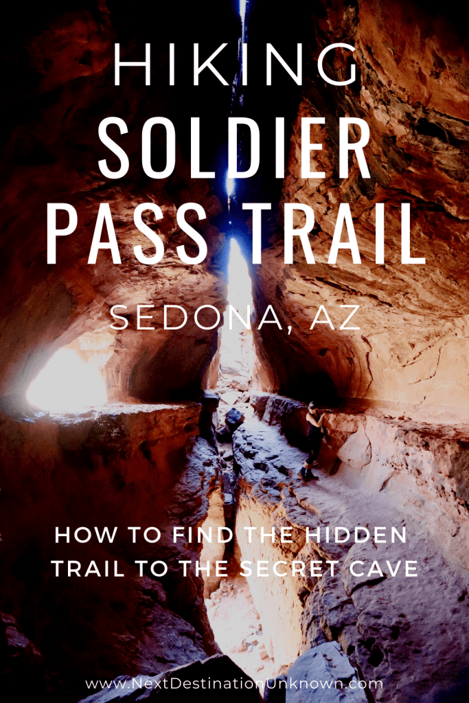 Hiking Soldier Pass Trail - How To Find the Hidden Trail to the Secret Soldier Pass Cave Sedona Arizona