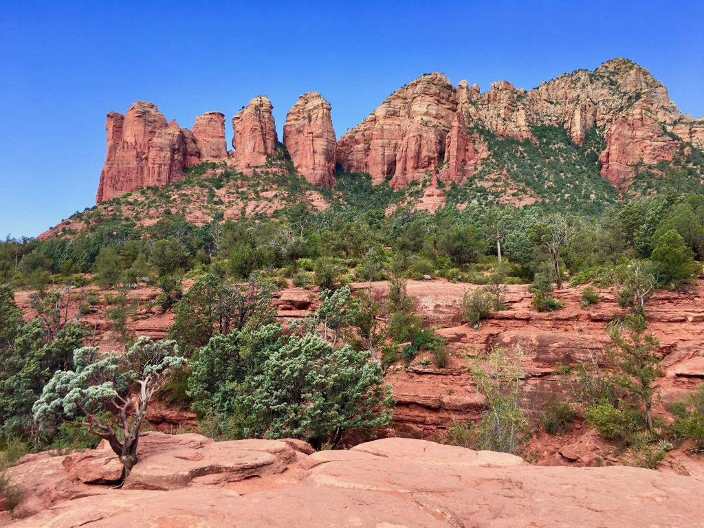 Red Rock Views along the Sedona Soldier Pass Trail - Best Hikes in Sedona AZ