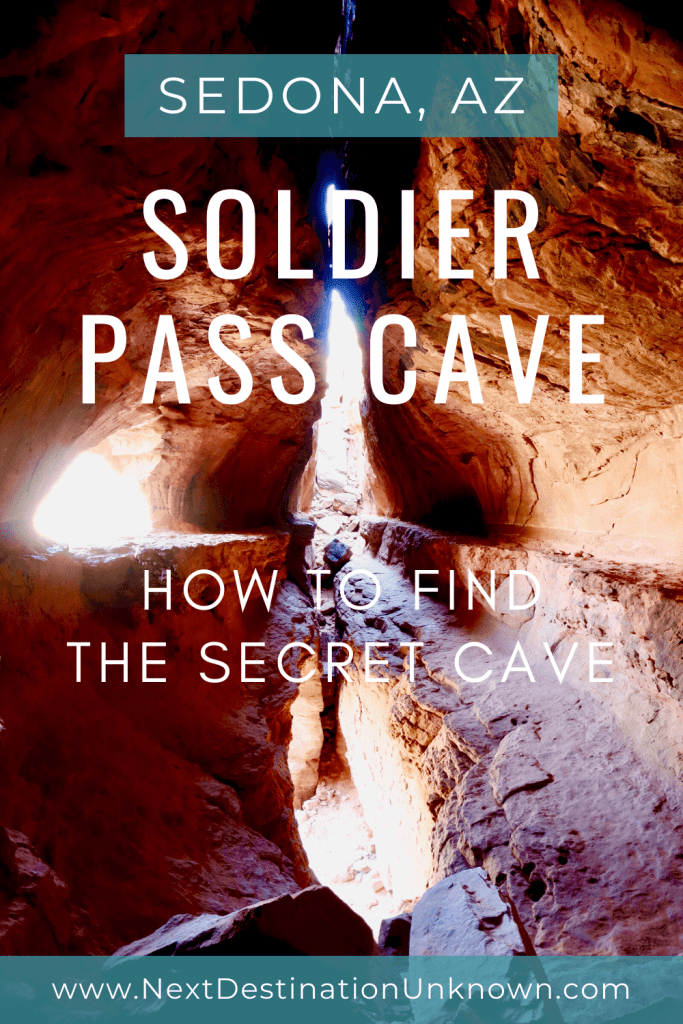 Hiking the Soldier Pass Trail in Sedona AZ - How To Find the Secret Soldier Pass Cave