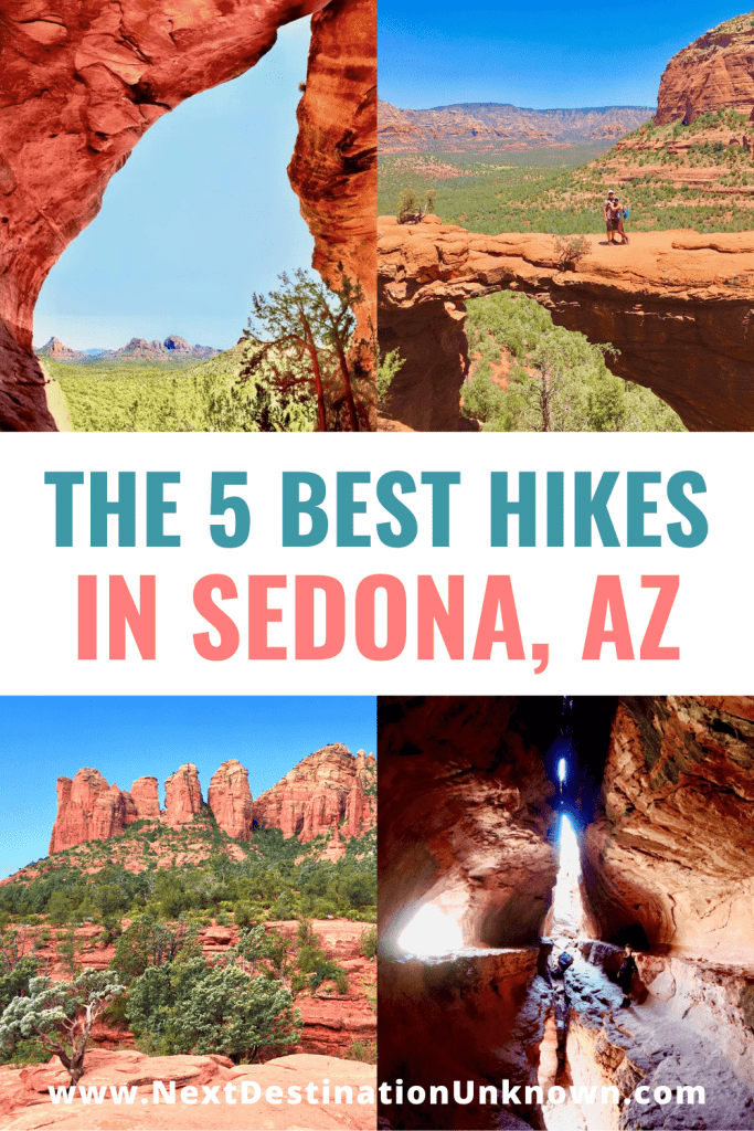 Top 5 Best Hikes in Sedona, AZ