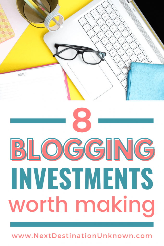 8 Blog Investments Worth Making