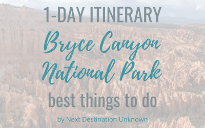 Bryce Canyon National Park in Utah: 1-Day Itinerary of the Best Things To Do