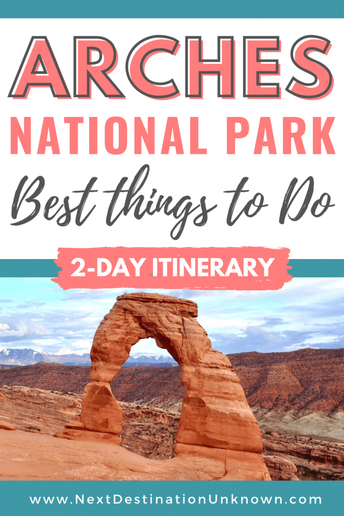 Best Things To Do at Arches National Park in Utah