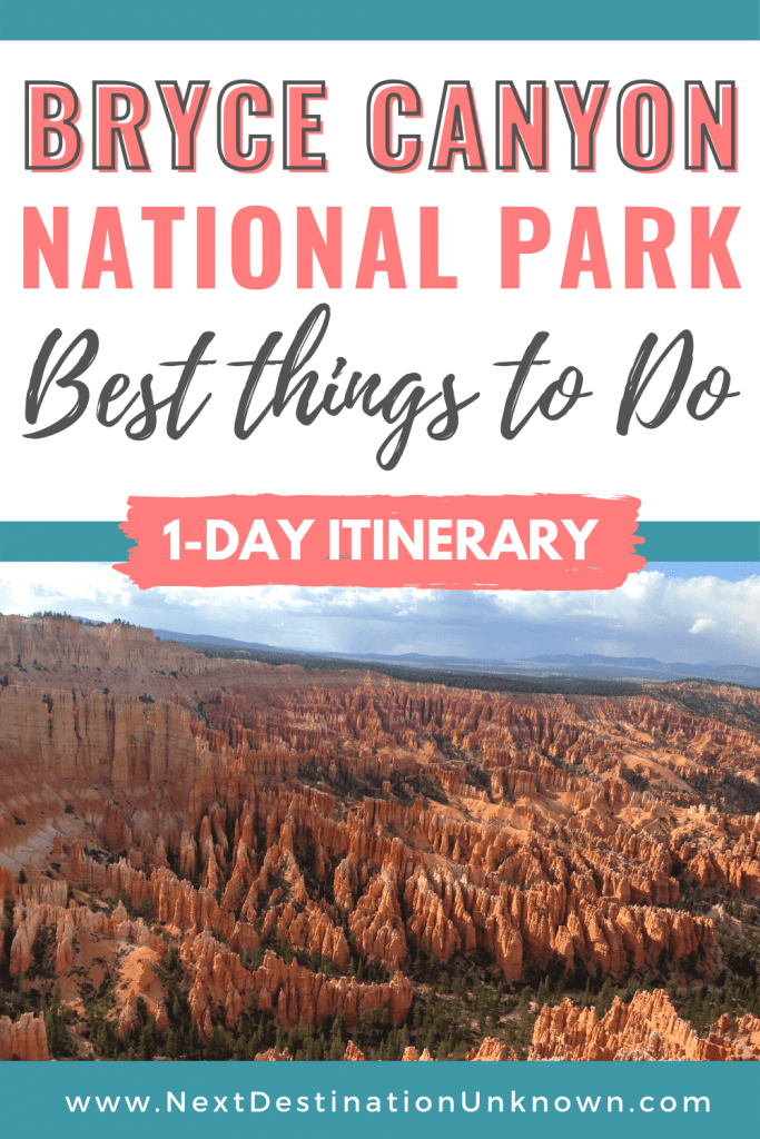 Best Things To Do at Bryce Canyon National Park in Utah