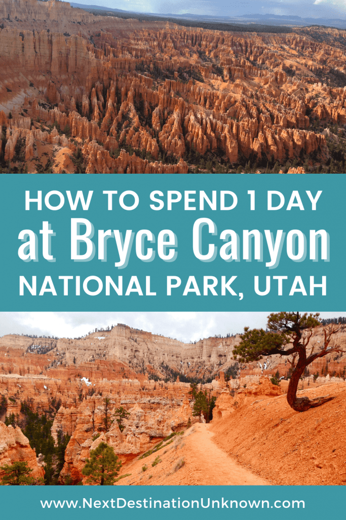 How To Spend 1 Day at Bryce Canyon National Park in Utah