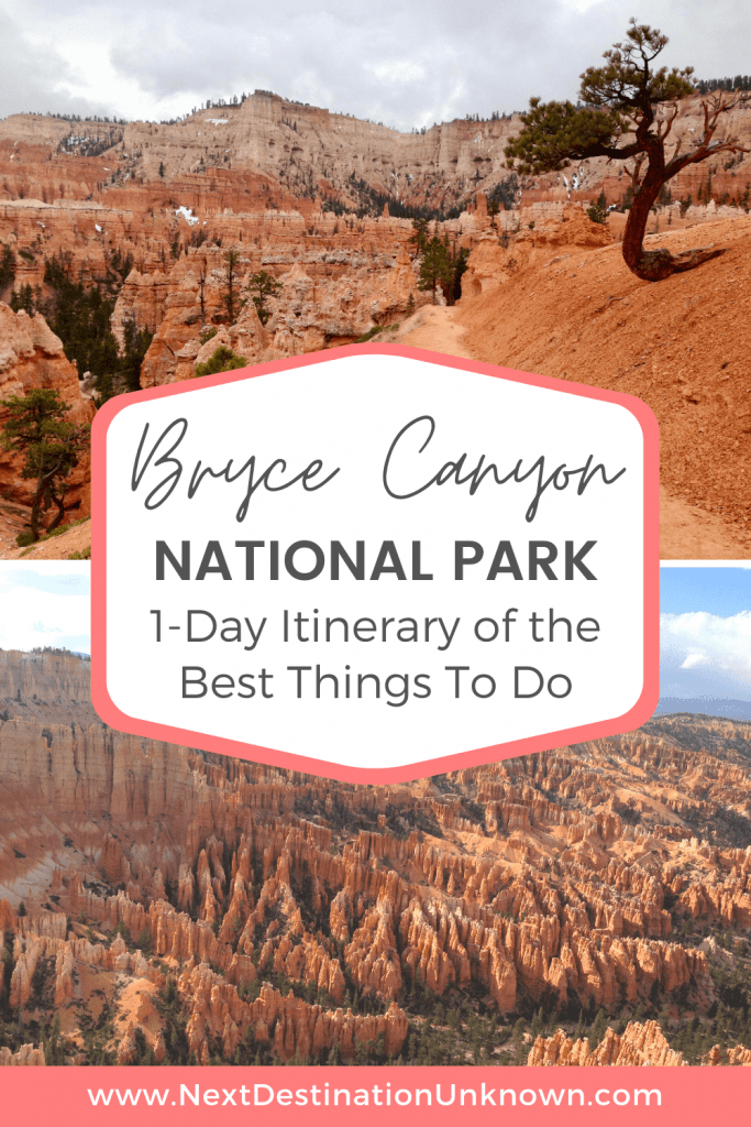 Visiting Bryce Canyon National Park in Utah - Best 1-Day Itinerary