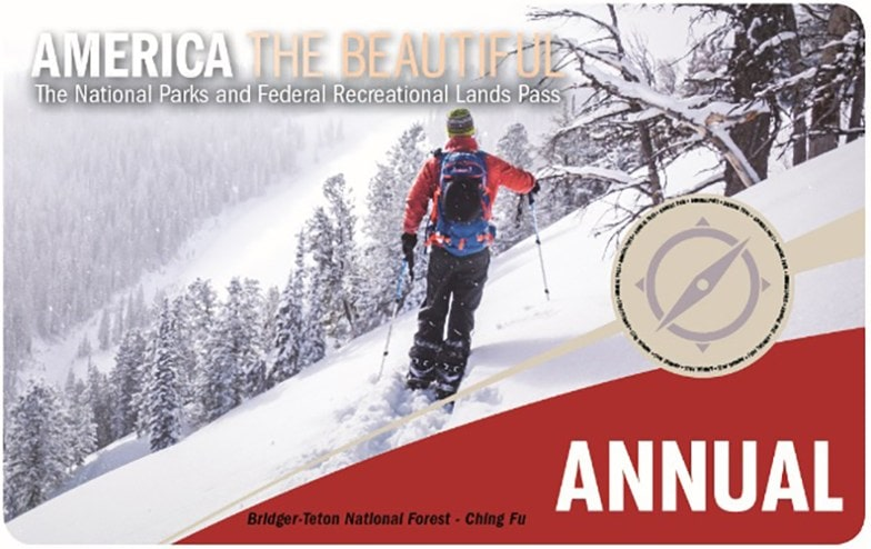 America the Beautiful Pass Annual National Parks Pass