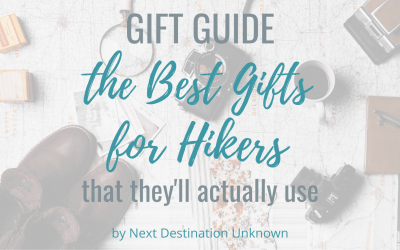 The Best Gifts for Hikers That They'll Actually Use