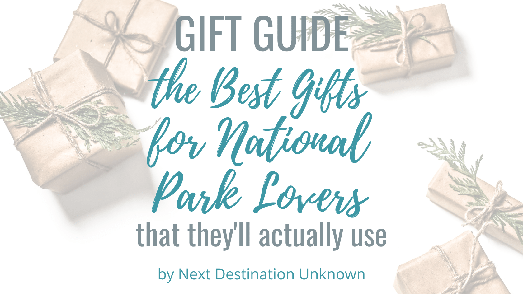 The Best Gifts for National Park Lovers That They'll Actually Use