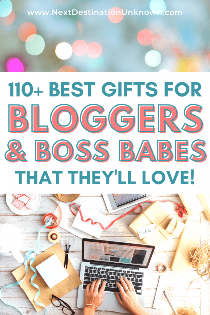 Best Gifts for Bloggers or Boss Babes with Blogging Gift Ideas