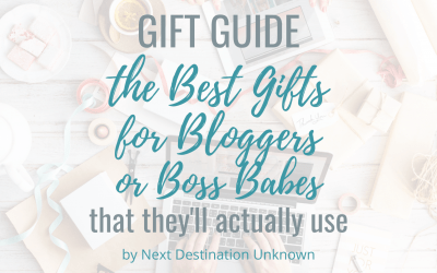 The Best Gifts for Bloggers or Boss Babes That They'll Actually Use