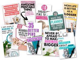 Pinteresting Strategies Course - Free Pin Templates!