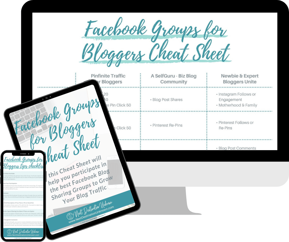 Download the Free Facebook Groups for Bloggers Cheat Sheet!