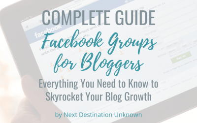 Facebook Groups for Bloggers: Everything You Need to Know to Skyrocket Your Blog Growth