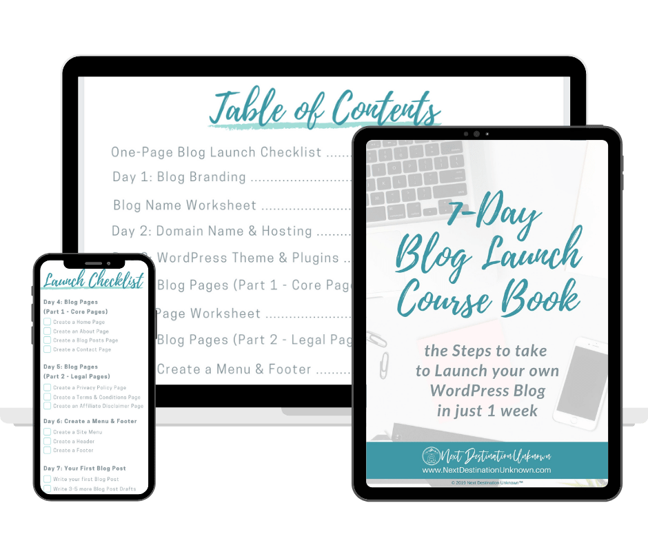 Free Blog Launch Course