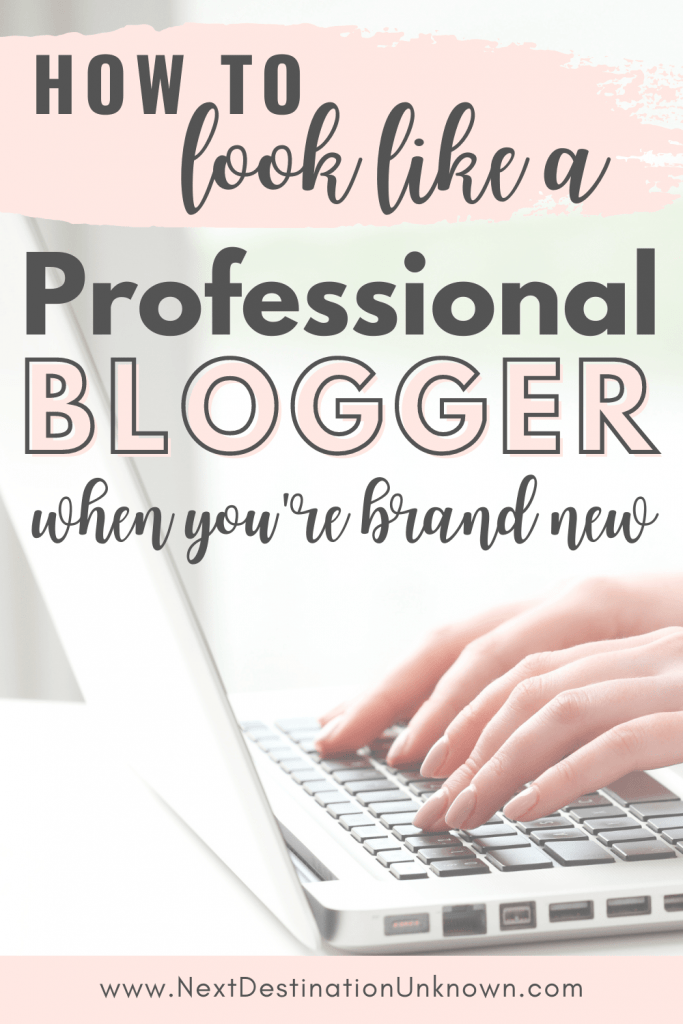 Tips for Beginner Bloggers - How To Look Like a Professional Blogger