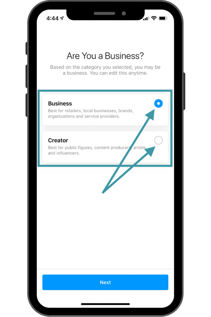 Instagram Account for Business - Business or Creator Account