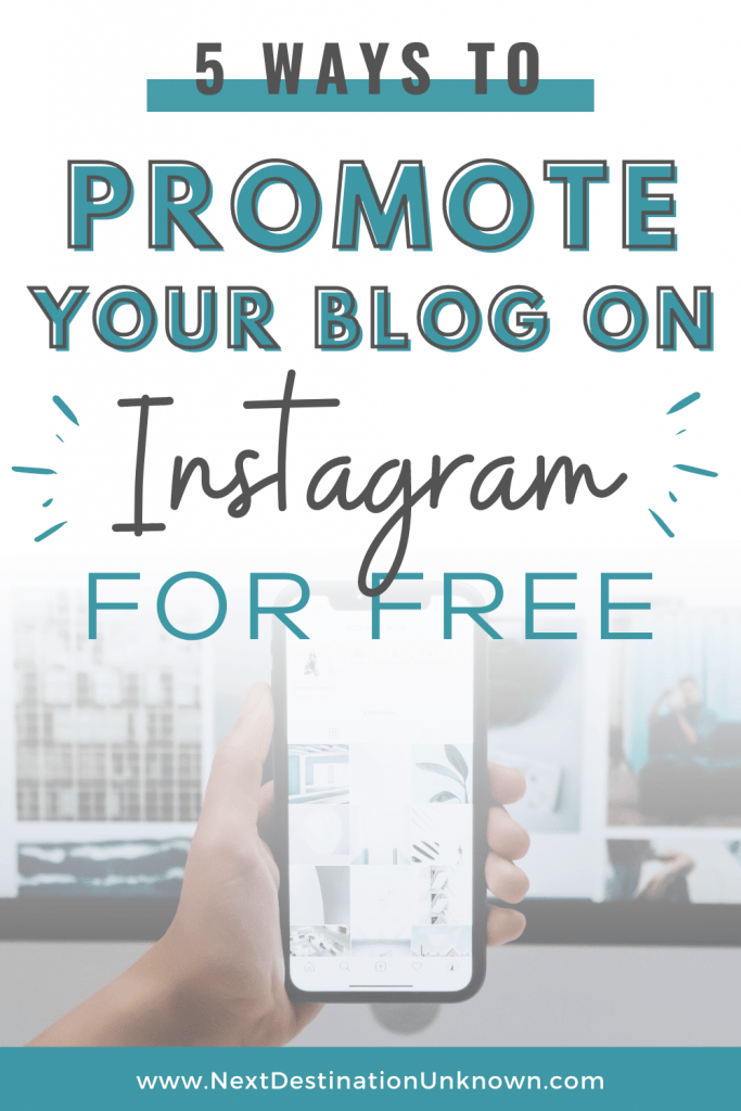 5 Ways To Promote Your Blog On Instagram For Free