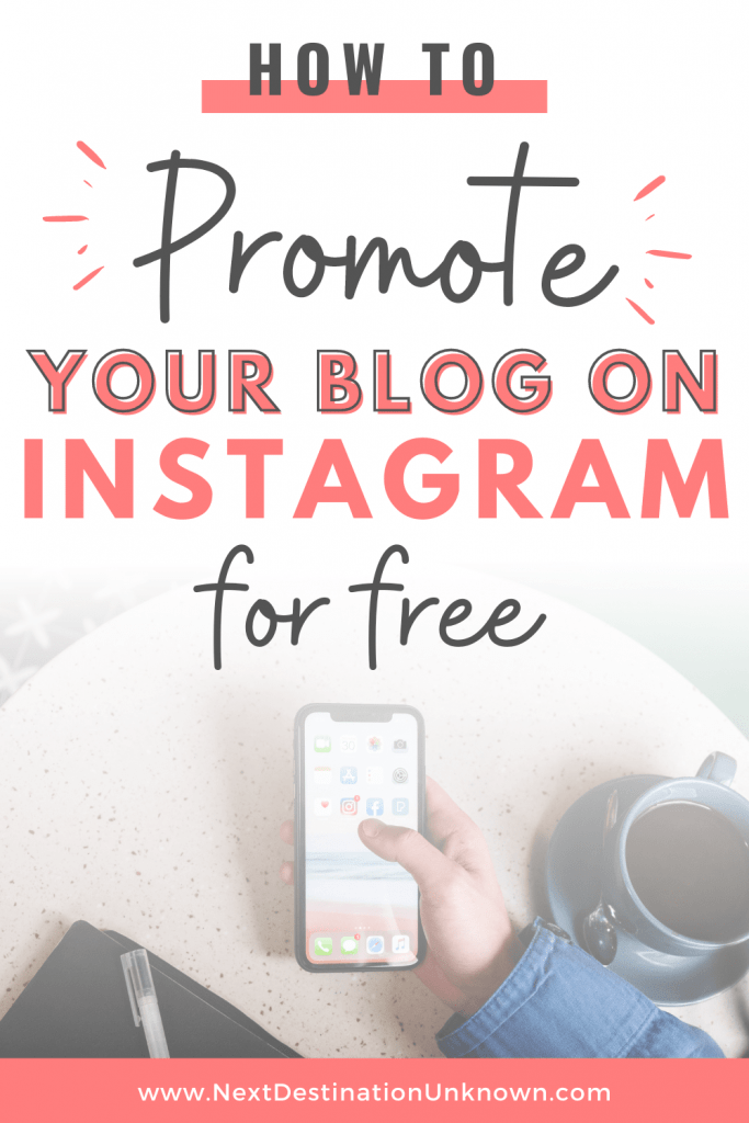 How To Creatively Promote Your Blog On Instagram For Free